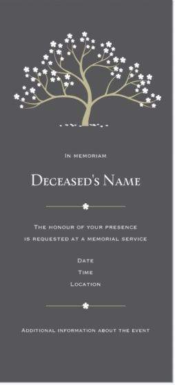 Invitation to Memorial Service Fresh Best 25 Memorial Services Ideas On Pinterest