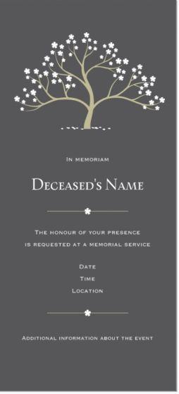 Invitation to Memorial Service Fresh Best 25 Memorial Services Ideas On Pinterest