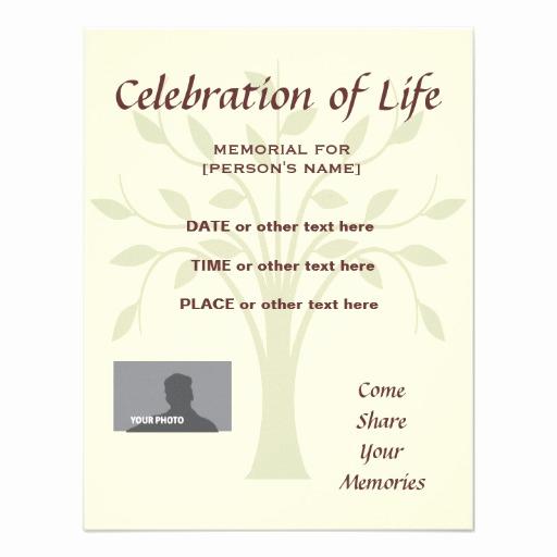 Invitation to Memorial Service Inspirational Funeral Celebration Life Quotes Quotesgram