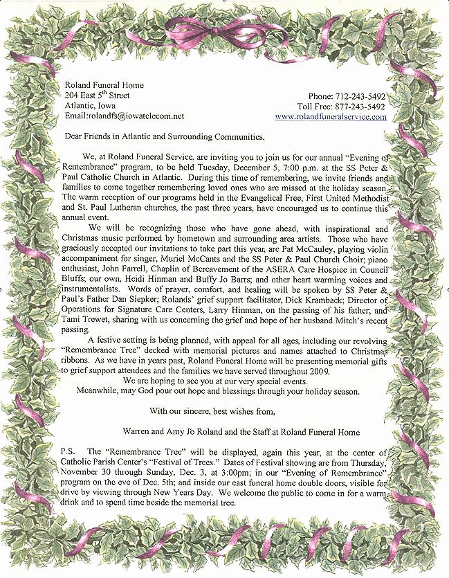 Invitation to Memorial Service New Memorial Service Invitations