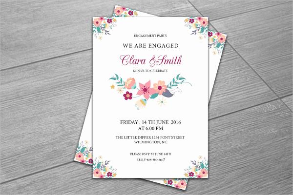 Invitation Wording for Parties Elegant 13 Surprise Engagement Party Invitation Designs