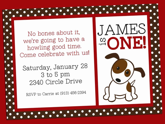 Invitation Wording for Parties Lovely Items Similar to Puppy Dog Party Invitation Jpeg Printable