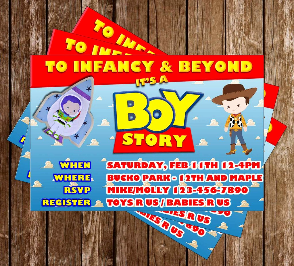It A Boy Invitation Best Of Novel Concept Designs It S A Boy Story toy Story