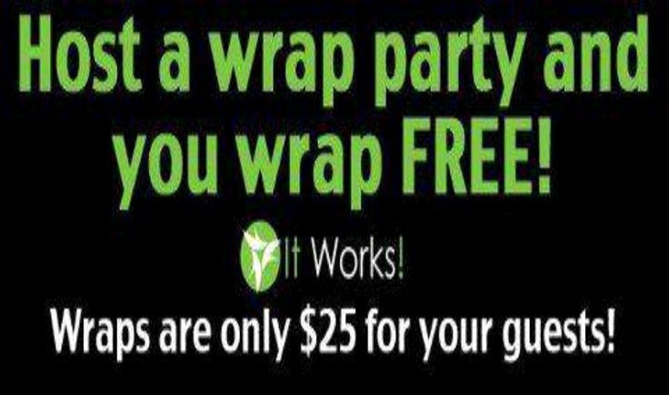 It Works Wrap Party Invitation Lovely Schedule Your Party today 219 381 6681