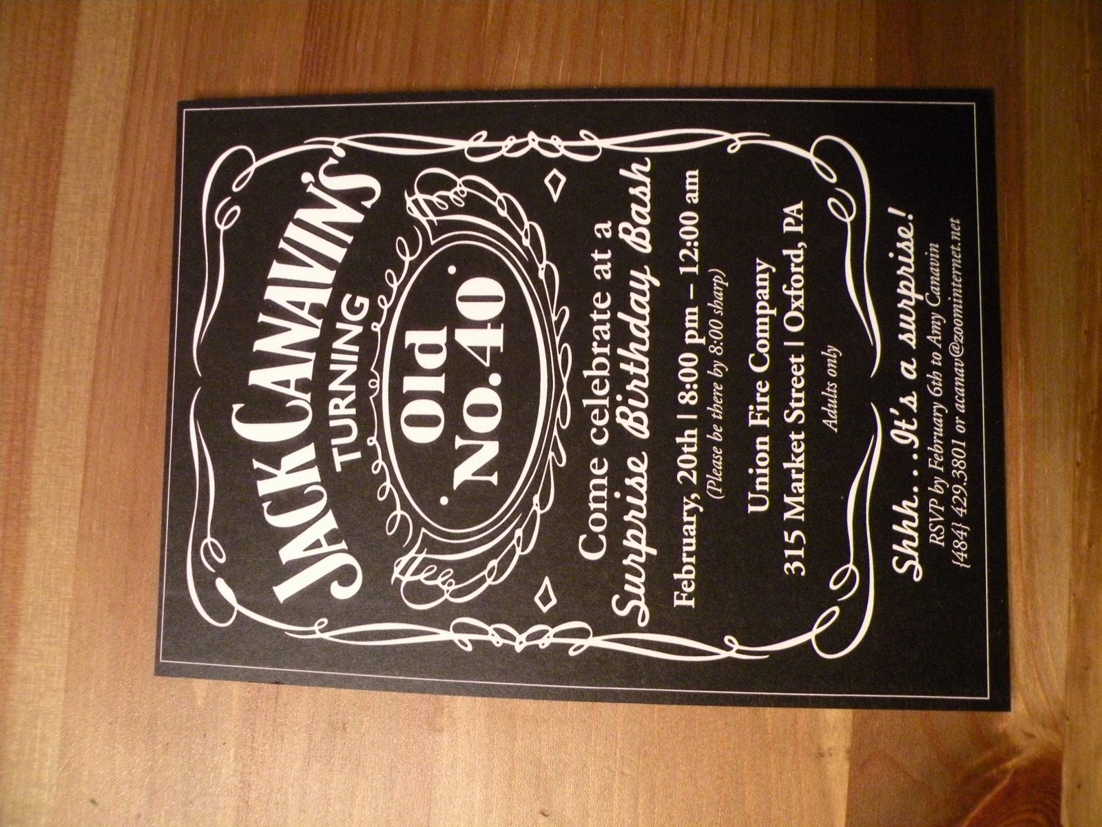Jack Daniels Birthday Invitation Beautiful Papyrus Muse Jack Daniel S Inspired Party and Invitations