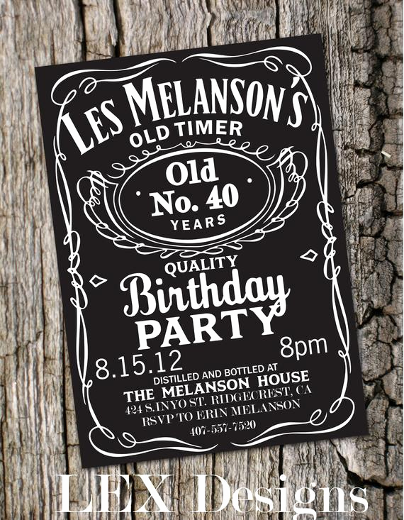 Jack Daniels Birthday Invitation Best Of Reserved Listing for Joanna by Lexdesignsco On Etsy