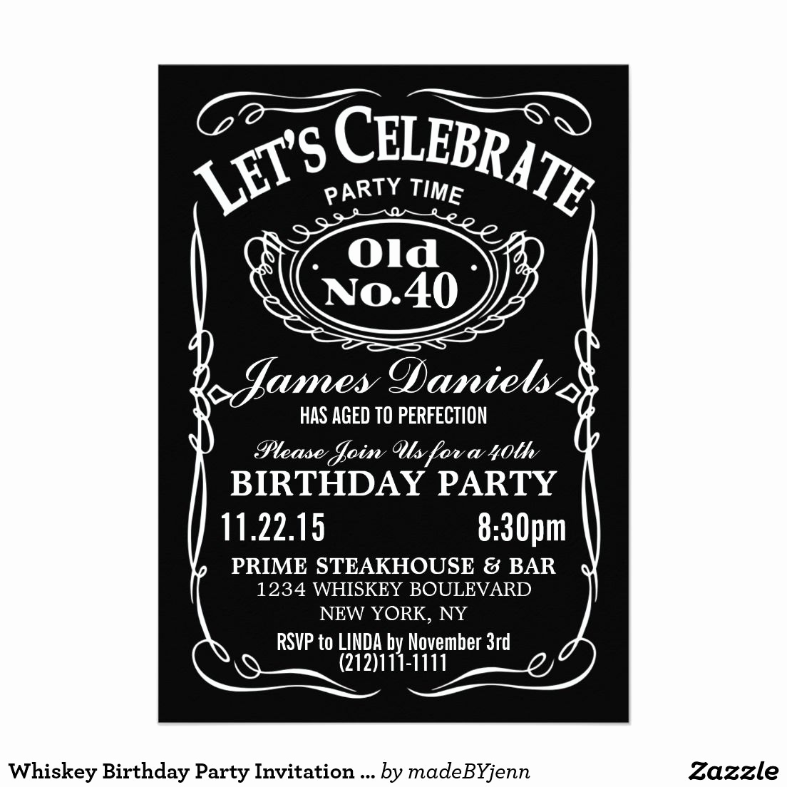 Jack Daniels Birthday Invitation Luxury 37 Jack Daniels Invitation Jack Daniels Invitation for