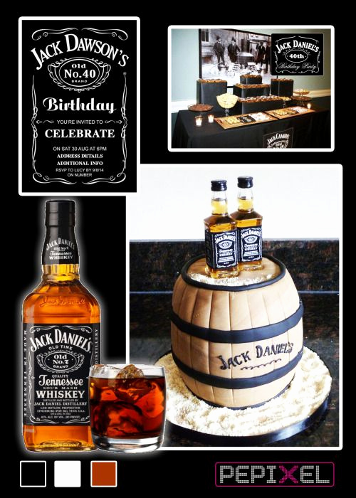 Jack Daniels Invitation Template Free Luxury Jack Daniels Birthday Digital Printable Invitation