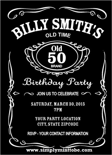 Jack Daniels Invitation Template Free New 1000 Ideas About Jack Daniels Party On Pinterest