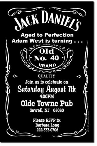 Jack Daniels Invitation Template Free Unique 17 Best Ideas About Jack Daniels Label On Pinterest