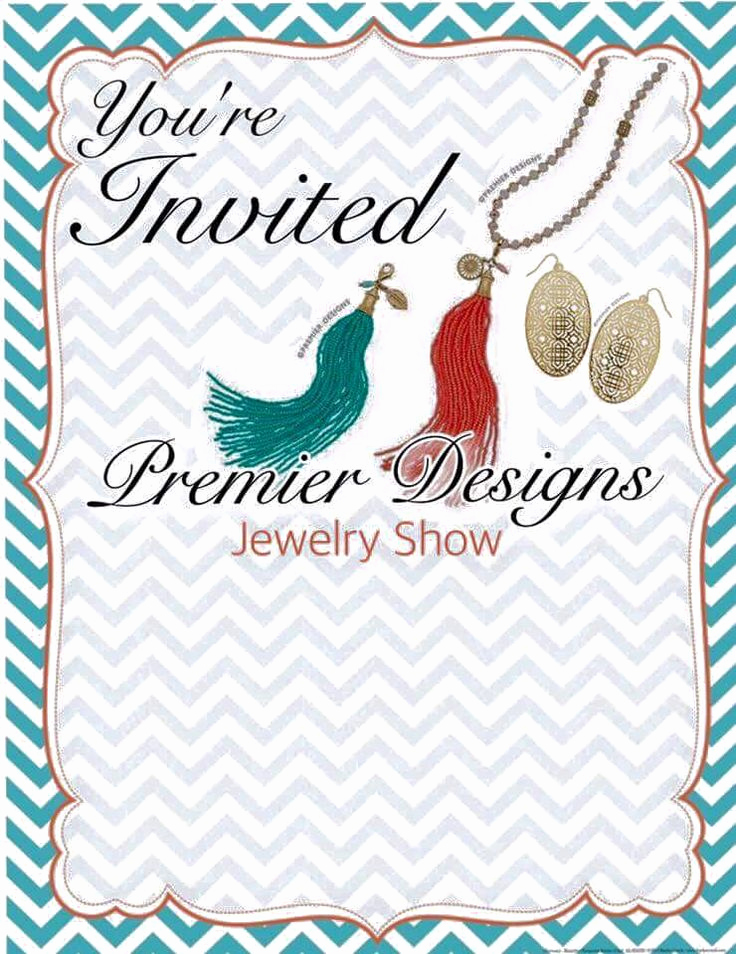 Jewelry Party Invitation Template Awesome 17 Best Images About Pd Jewelry Invitations On Pinterest
