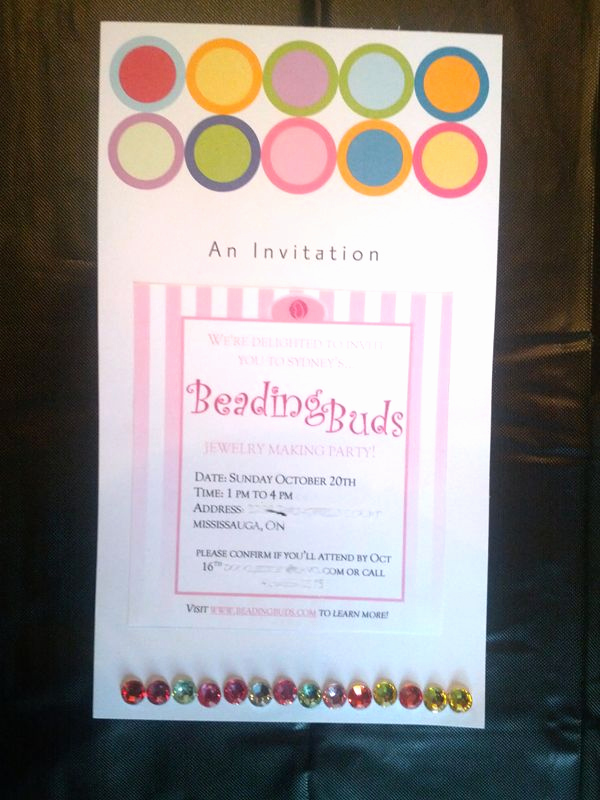 Jewelry Party Invitation Template Beautiful 17 Best Images About Invitation Ideas From Past Beading
