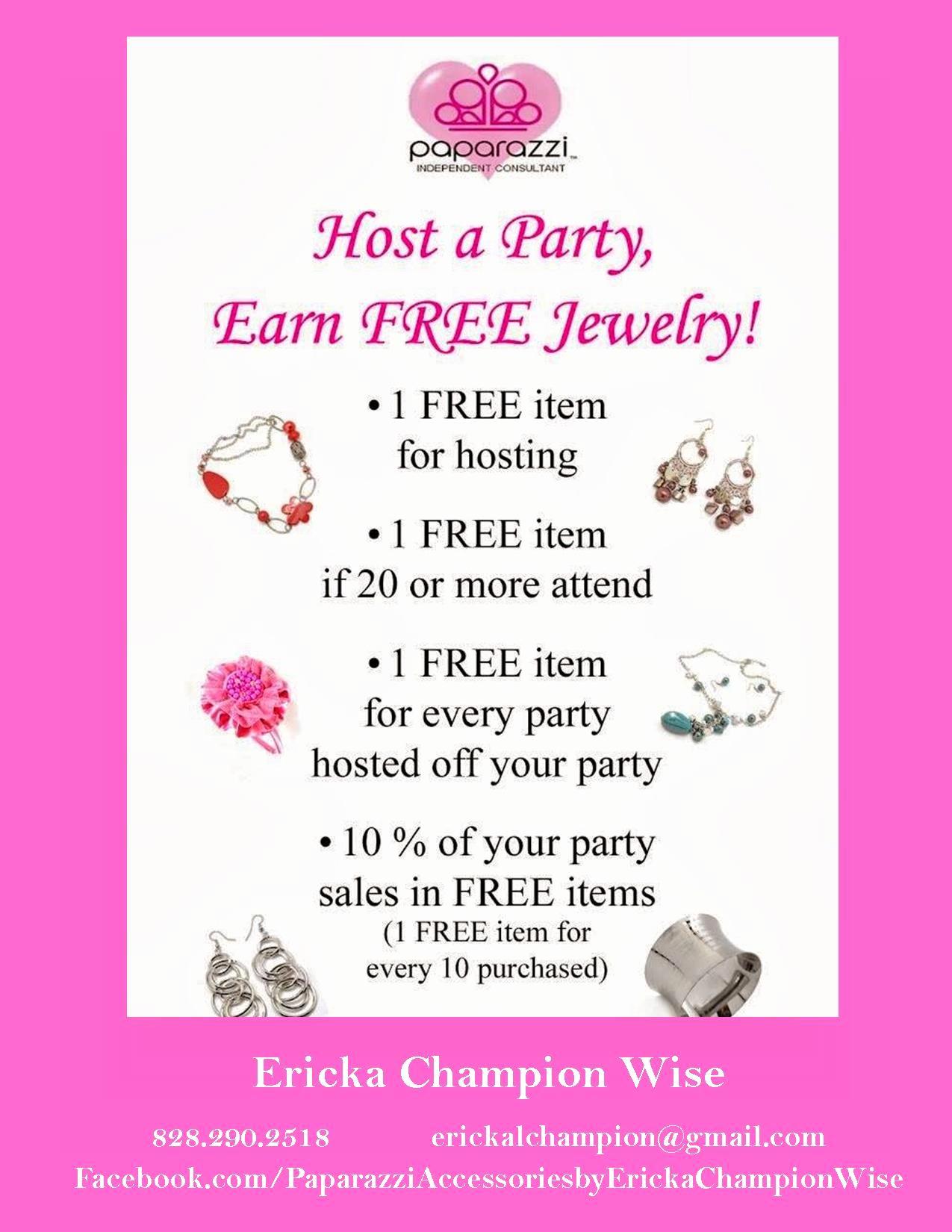 Jewelry Party Invitation Template Beautiful Paparazzi Accessories Hostess Rewards