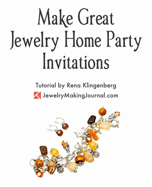 Jewelry Party Invitation Template Inspirational Great Jewelry Home Party Invitations — Jewelry Making Journal