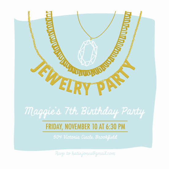 Jewelry Party Invitation Template Luxury Party Invitations Jewelry Party at Minted