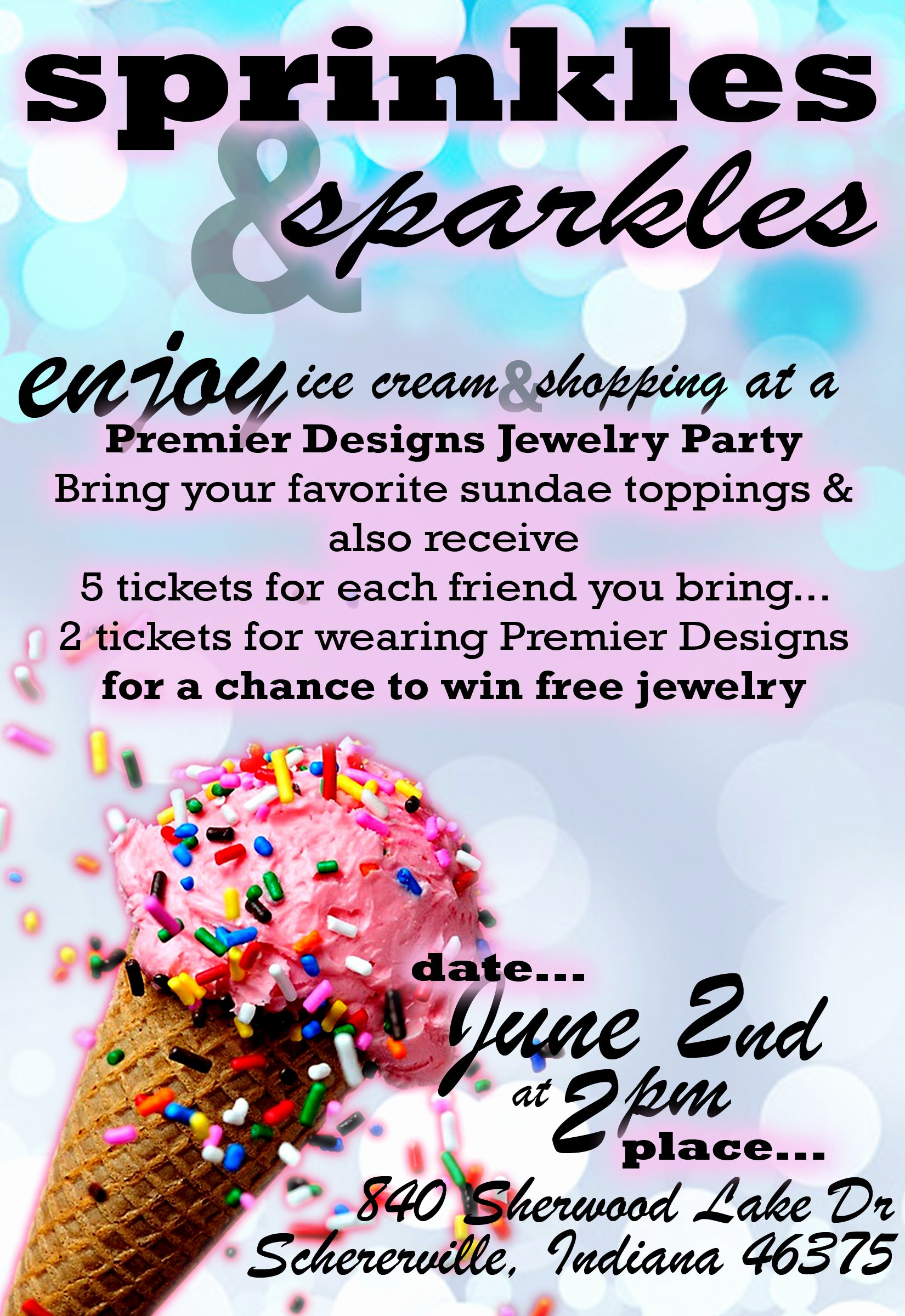 Jewelry Party Invitation Template New Nom Nom Nom Ice Cream Party Invite or for Those