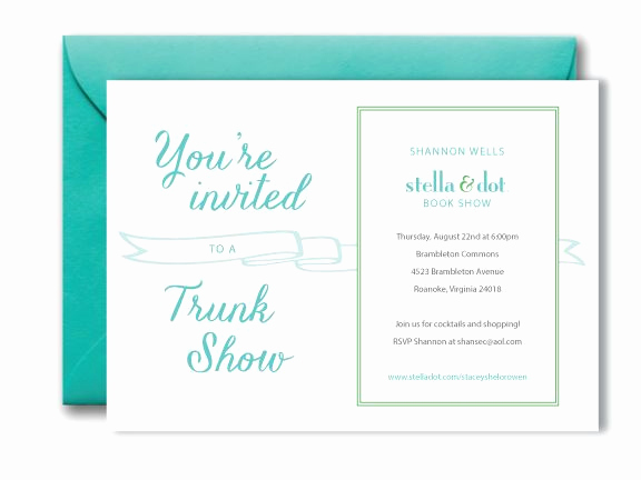 Jewelry Trunk Show Invitation Beautiful 17 Best Images About Trunk Show Invite Ideas On Pinterest