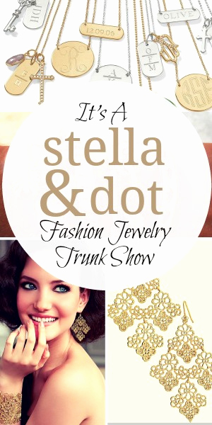 Jewelry Trunk Show Invitation Elegant It S A Stella & Dot Fashion Jewelry Trunk Show