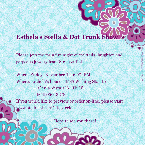 Jewelry Trunk Show Invitation Inspirational Can I Host My Own Stella and Dot Trunk Show
