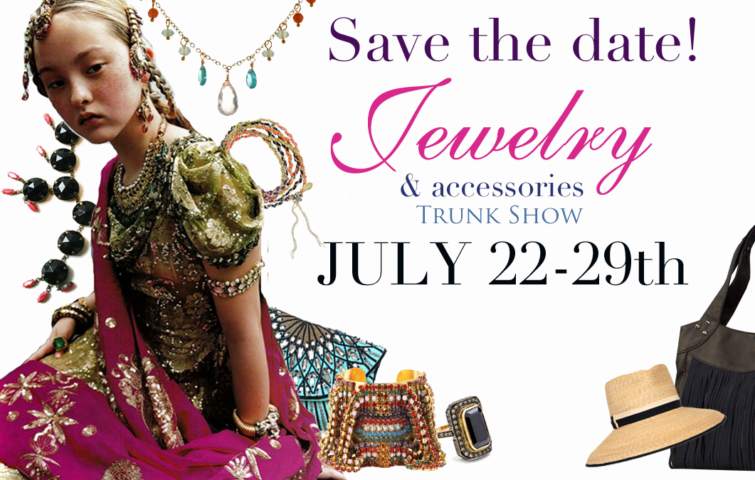Jewelry Trunk Show Invitation Luxury Trunk Shows Splash Jewelry