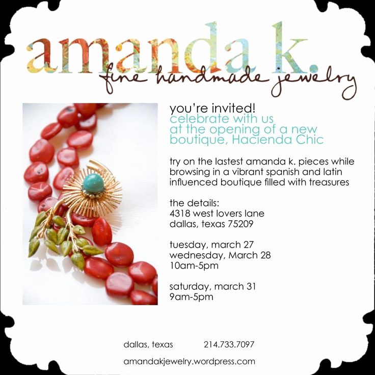 Jewelry Trunk Show Invitation New 8 Best Trunk Show Invite Ideas Images On Pinterest