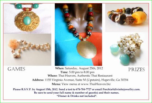 Jewelry Trunk Show Invitation Sample Elegant Jewelry Trunk Show Invitation
