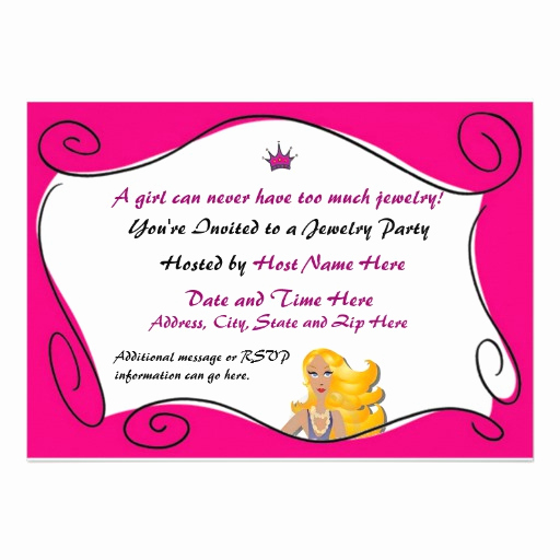 Jewelry Trunk Show Invitation Sample Lovely Subject Lines for Jewelry Party Invitation
