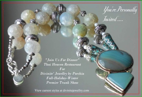 idea of invites to jewerly trunk show