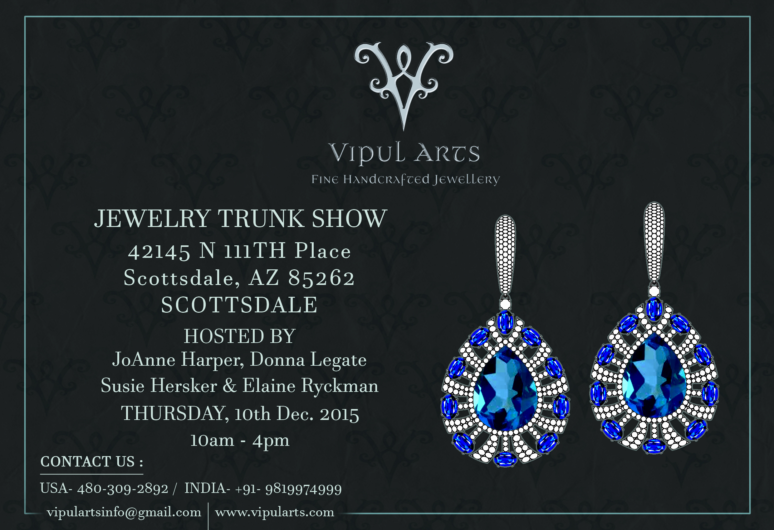 Jewelry Trunk Show Invitation Unique Please Join Us for Our Holiday Open House & Jewelry Trunk