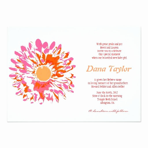 Jewish Baby Naming Invitation Awesome 18 Best Jewish Baby Naming Invitations Images On Pinterest