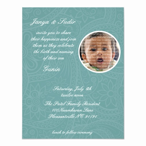Jewish Baby Naming Invitation Fresh Namkaran Baby Naming Invitations