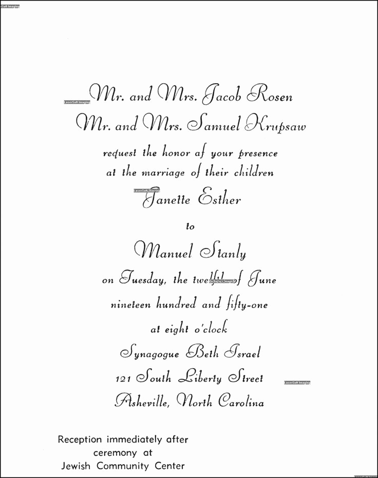 Jewish Wedding Invitation Wording Best Of Best 25 Jewish Wedding Invitations Ideas On Pinterest