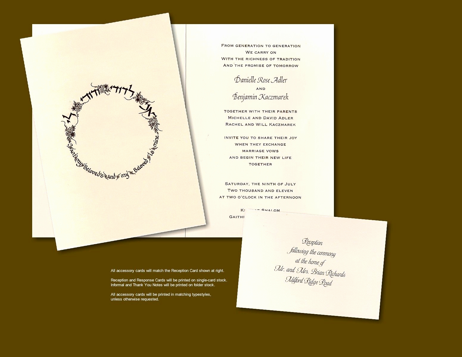 Jewish Wedding Invitation Wording Elegant song Of solomon Jewish Wedding Invitation Keywords