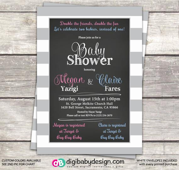 Joint Baby Shower Invitation Wording Beautiful Baby Shower Invitation Joint Baby Shower Friends Baby