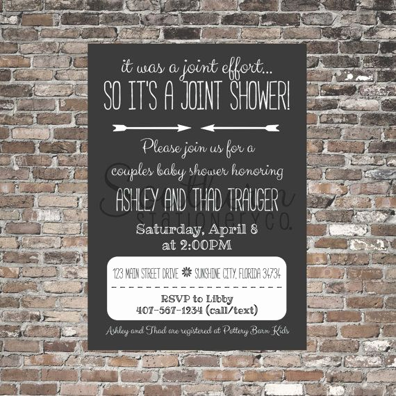 Joint Baby Shower Invitation Wording Fresh 25 Best Ideas About Joint Baby Showers On Pinterest