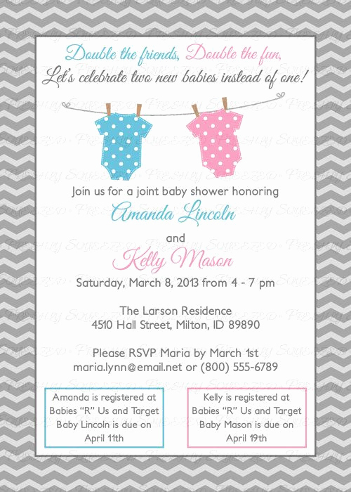 Joint Baby Shower Invitation Wording Unique 25 Best Ideas About Joint Baby Showers On Pinterest