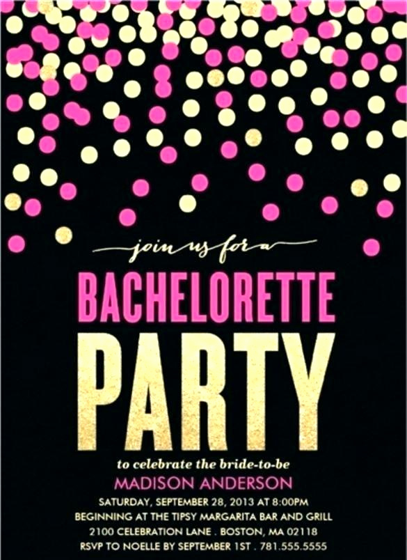 Joint Bachelor Bachelorette Party Invitation Awesome Joint Bachelor Bachelorette Party Invitations
