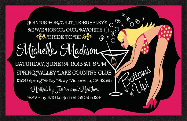 Joint Bachelor Bachelorette Party Invitation Elegant Bachelorette Party Invitation Wording