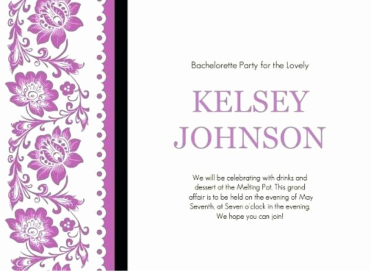 Joint Bachelor Bachelorette Party Invitation Lovely Joint Bachelor Bachelorette Party Invitations