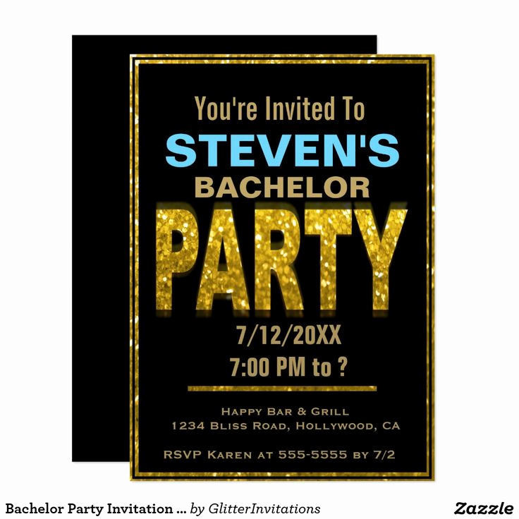 Joint Bachelor Bachelorette Party Invitation Luxury Best 20 Bachelor Party Invitations Ideas On Pinterest