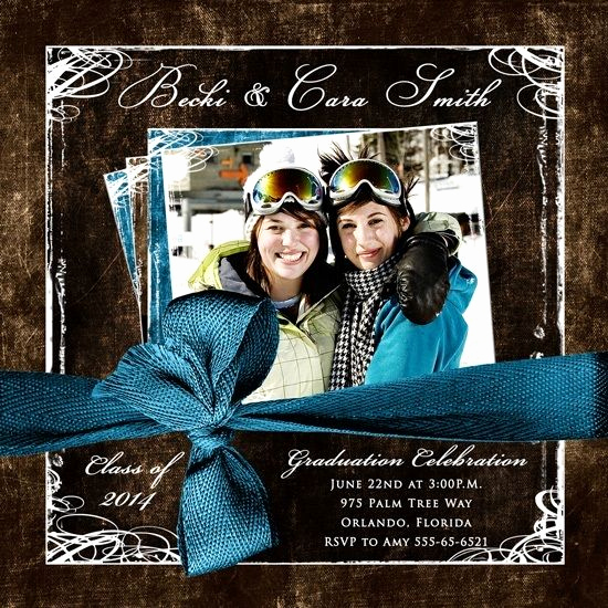 Joint Graduation Party Invitation Wording Elegant Joint Graduation Party Invitations