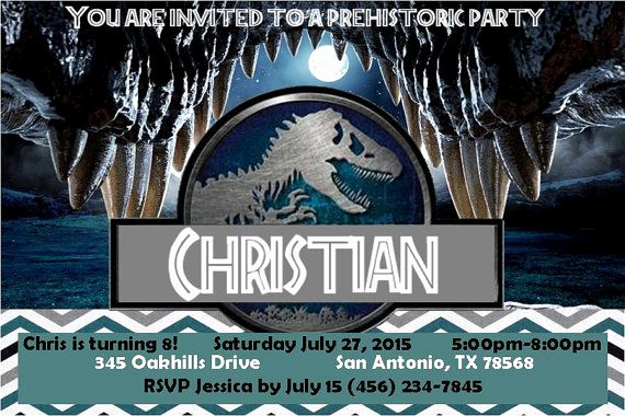 Jurassic World Invitation Template Free Beautiful Pin by Royal Duke S and Blue S On Jurassic World Birthday