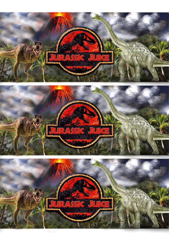 Jurassic World Invitation Template Free Inspirational Jurassic World Dinosaur Printable Party Invitation with