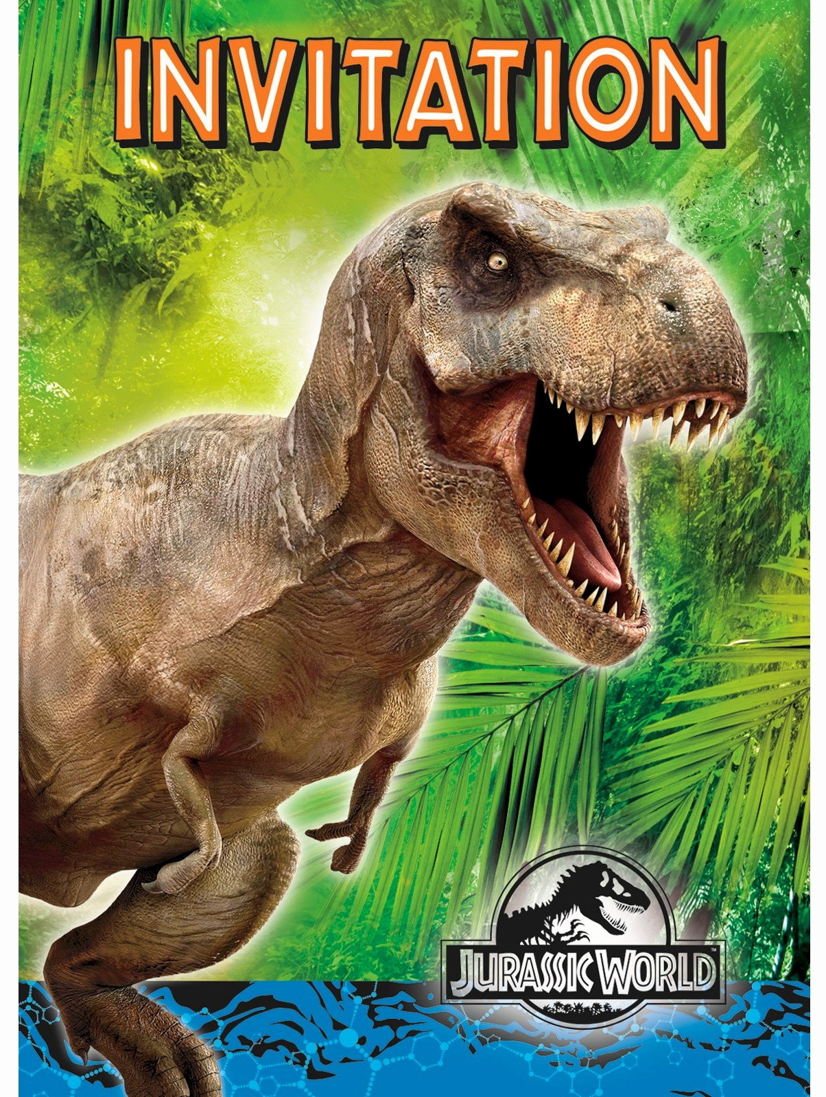 Jurassic World Invitation Template Free New Jurassic World Dinosaur Party Planning Ideas & Supplies
