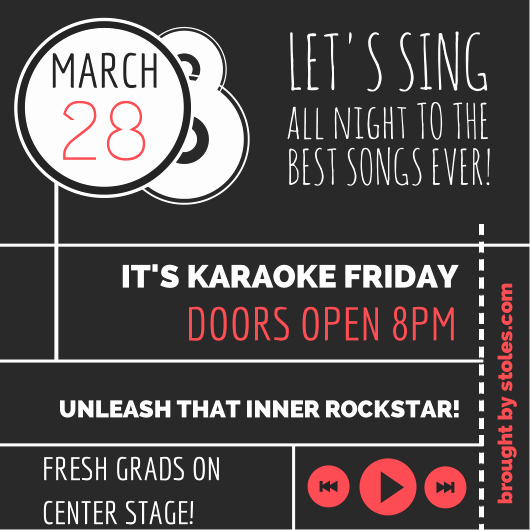 Karaoke Party Invitation Wording Awesome Like the Layout Of This Invite as Well Update the Wording