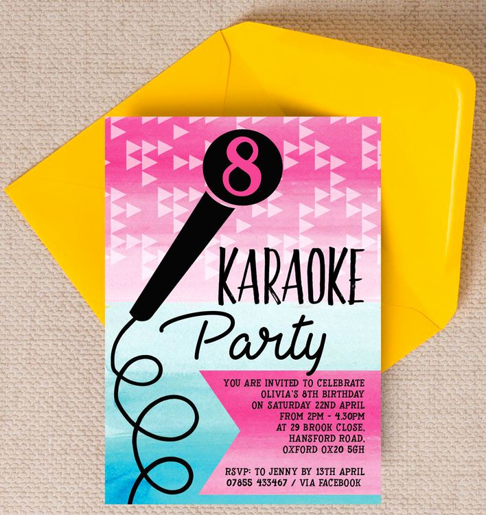 Karaoke Party Invitation Wording Best Of 187 Best Baby & Kids Party Stationery Invitations