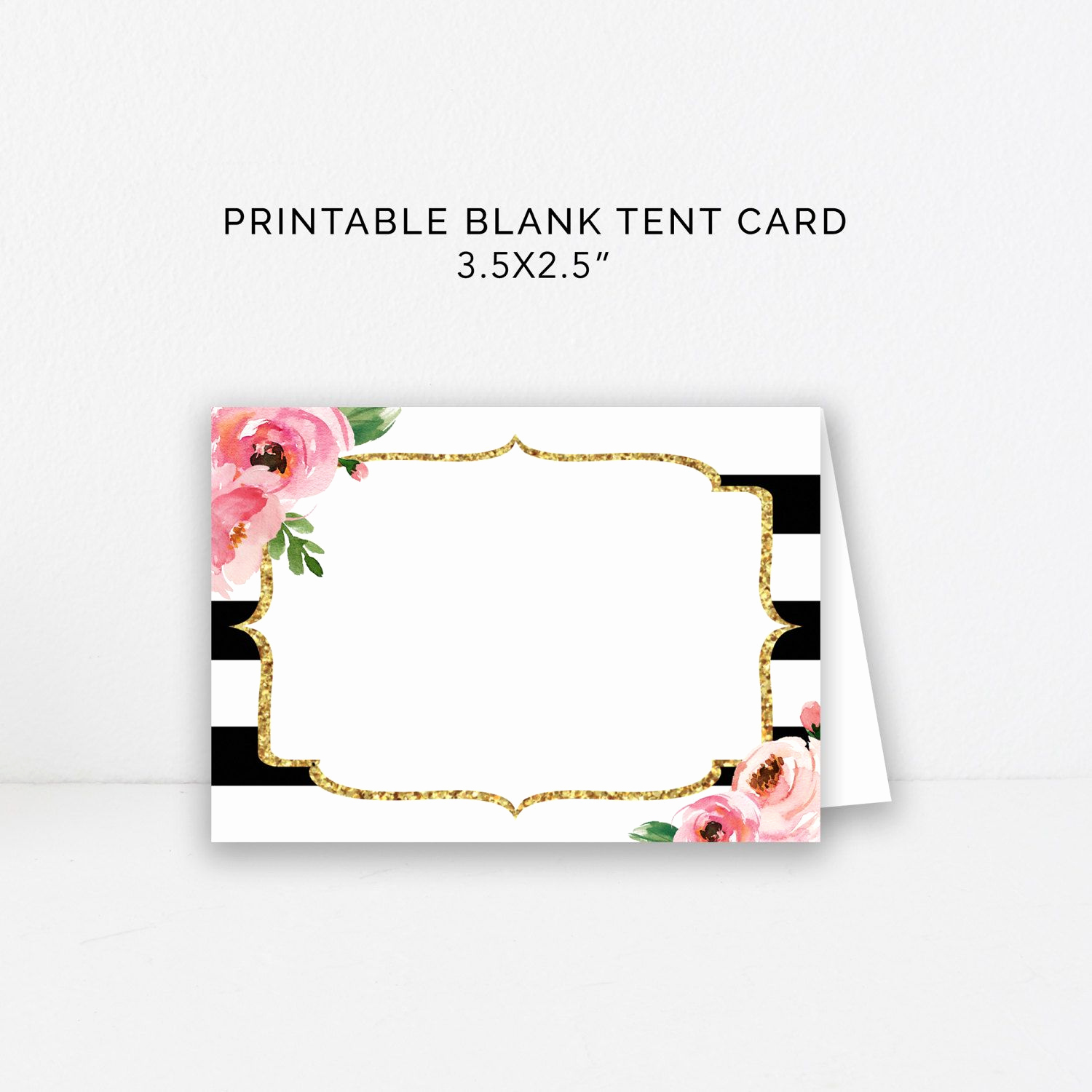 Kate Spade Invitation Template Free Fresh Food Tent Card Editable Template Diy Kate Place Cards