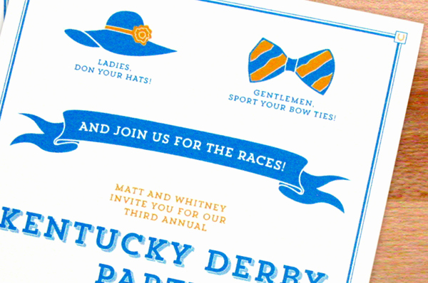 Kentucky Derby Invitation Wording Inspirational Kentucky Derby Party Invitations On Behance