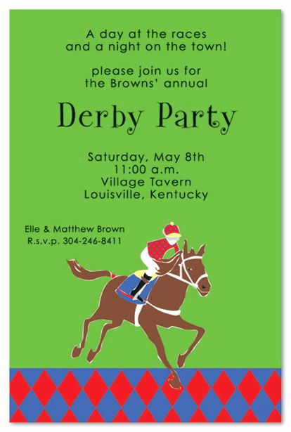 Kentucky Derby Party Invitation Wording Unique 10 Images About Kentucky Derby Party On Pinterest