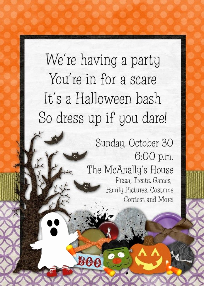 Kid Halloween Party Invitation Awesome Best 20 Halloween Birthday Parties Ideas On Pinterest